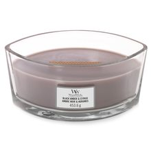 WoodWick loď Black Amber & Citrus