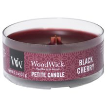 WoodWick petite Black Cherry
