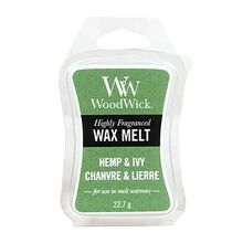 WoodWick vosk Hemp & Ivy
