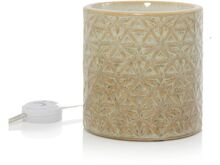 Yankee candle Belmont Lattice Glazed Ceramic Scenterpiece aromalampa