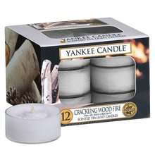 Yankee candle čaj.sv.12ks Crackling Wood Fire