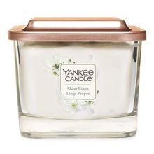 Yankee candle Elevation 3 knoty Sheer Linen