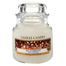 Yankee candle sklo1 All is Bright