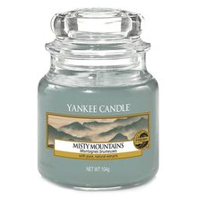 Yankee candle sklo1 Misty Mountains