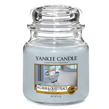 Yankee candle sklo2 A Calm & Quiet Place