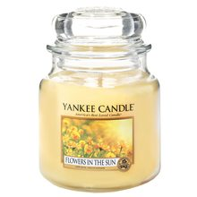Yankee candle sklo2 Flowers in the Sun