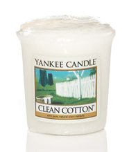 Yankee candle votiv Clean Cotton