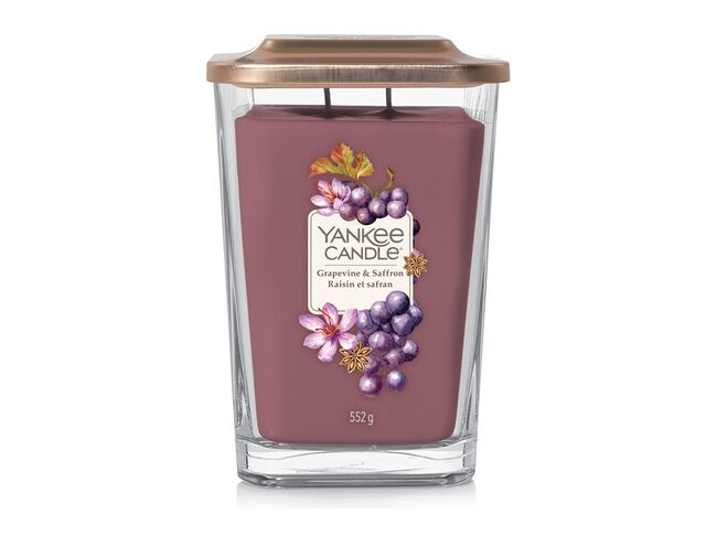 Yankee candle Elevation 2 knoty Grapevine & Saffron