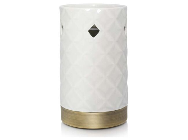 Yankee candle Langham Faceted Punched Ceramic Aromalampa