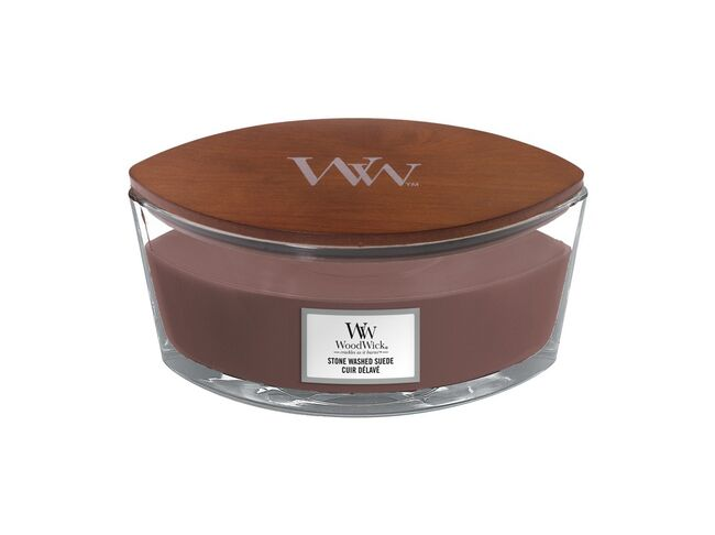 WoodWick loď Stone Washed Suede