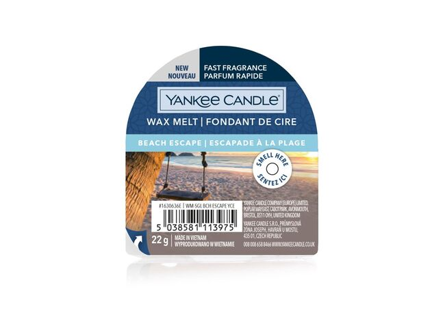 Yankee candle vosk Beach Escape