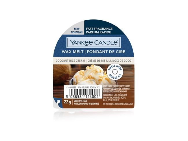 Yankee candle vosk Coconut Rice Cream